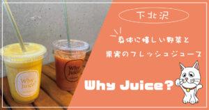 身体に嬉しい野菜と果実のフレッシュジュース